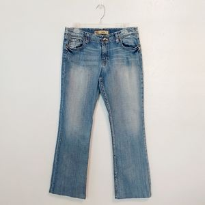 BKE Wendi boot cut jeans 30